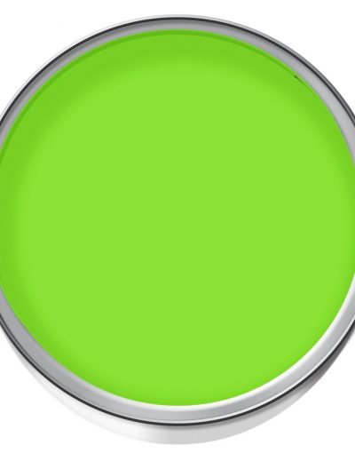 green temporary paint